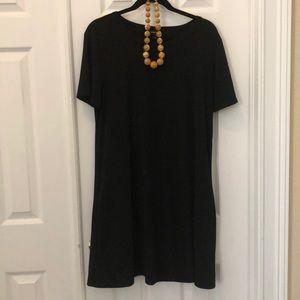 Kenneth Cole Black Dress Size XL